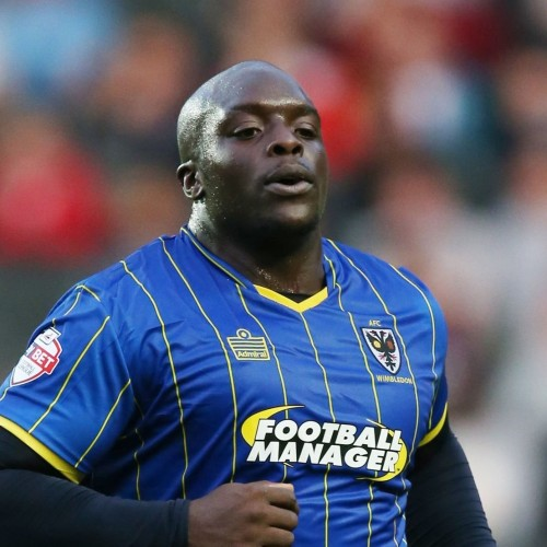 """FA CUP Asian handicap: Wimbledon's Adebayo Akinfenwa played as a stricker and nicknamed as """"The Beast"""" because of his physique"""