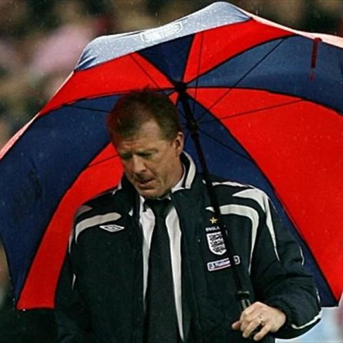 Steve McClaren, brolly wally
