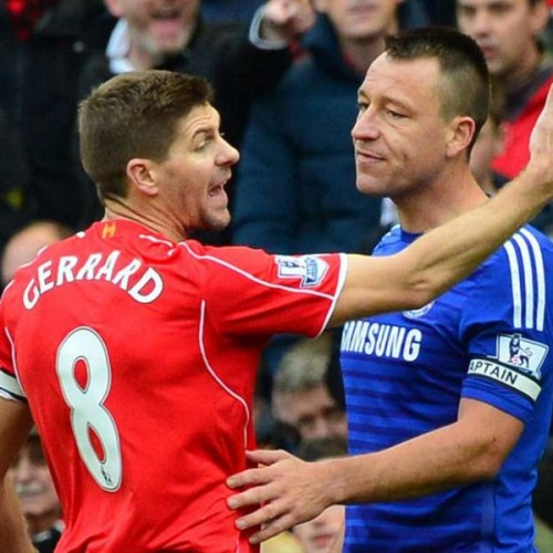 Steven Gerrard and John Terry