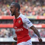 English forward Theo Walcott