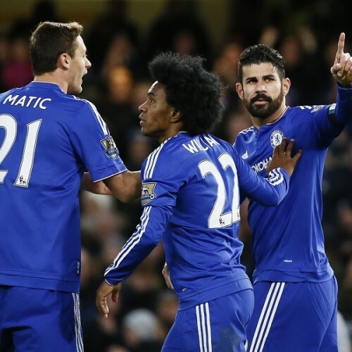 Matic, Willian & Costa - Chelsea