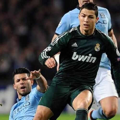 Aguero & Ronaldo