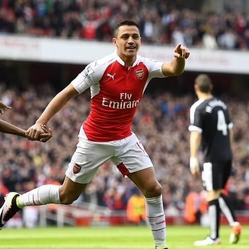 Arsenal's forward Alexis Sanchez