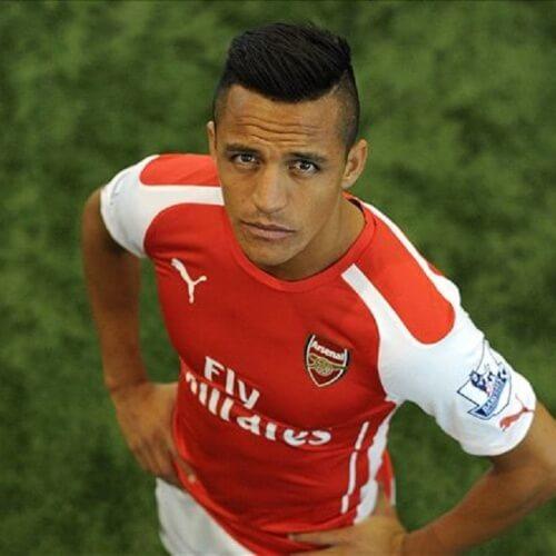 Arsenal's football star Alexis Sanchez