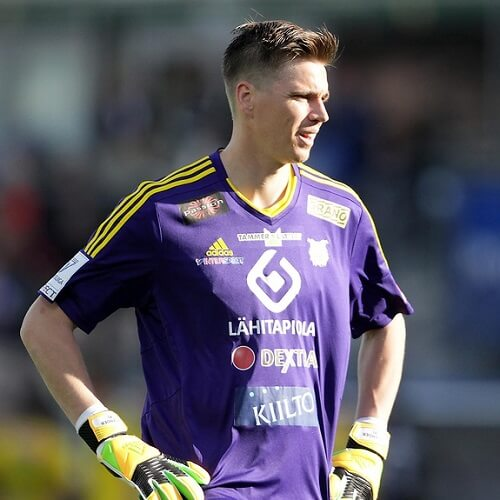 Veikkausliiga Asian handicap: Mika Hilander is Ilves' goalkeeper since 2014 after his transfer from KuPS