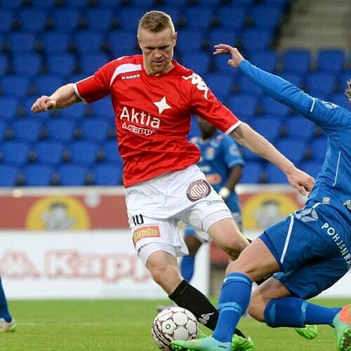 Veikkausliiga Asian handicap: A successful defense coming from left winger Aleksi Gullsten