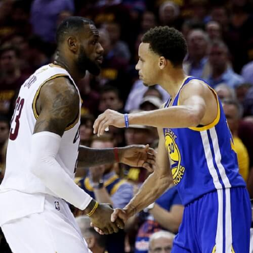 Lebron James & Ste[h Curry