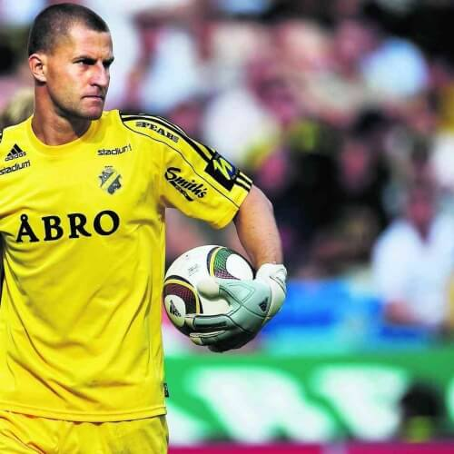 Allsvenskan Asian handicap: Legendary goalkeeper Kyriakos Stamatopoulos has been with AIK since 2010