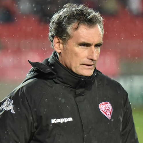 Ligue 1 Asian handicap: Olivier Dall'Oglio is a former professional footballer and now the manager of Dijon