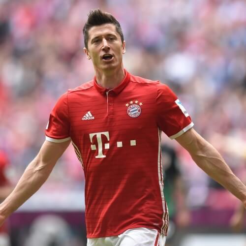 Premier League Asian handicap: Bayern Munich's Robert Lewandowski is regarder as the best Polish Footballer of all time