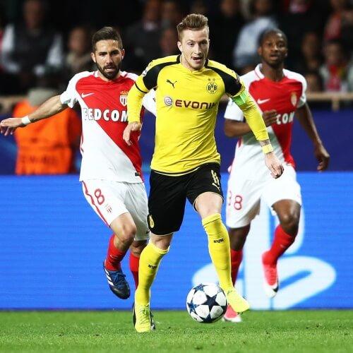 Eastbridge - Asian Handicap - Monaco v Borussia Dortmund
