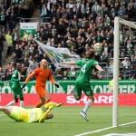 Allsvenskan Asian handicap: Hammary's midfielder Bjørn Paulsen is floating in the air after a successful assist
