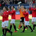 Veikkausliiga Asian handicap: HIFK players clapping their way to the field for another match