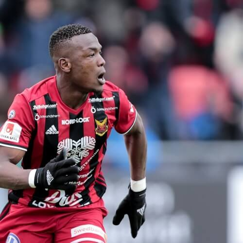 Allsvenskan Asian Handicap Preview: Östersund's Adhaji Gero posing for a run