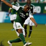 Asian handicap: Darlington Nagbe, one of the midfielders for Portland Timbers