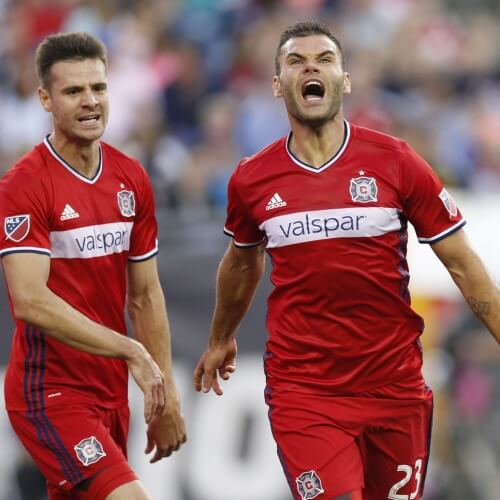 Asian handicap: Nemanja Nikolić roar as Chicago Fire burned New England in Gillette Stadium