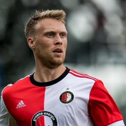 Europa League player analysis: Nicolai Jørgensen is not just any striker of Feyenoord. He is Eredivisie's top scorer and he also finished first in assists