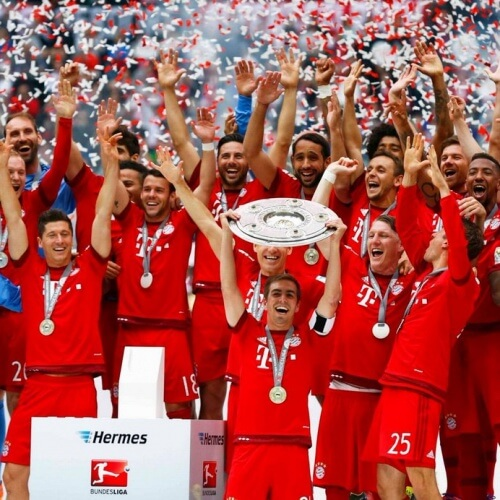 Bundesliga 2016-17 Bayern Munich