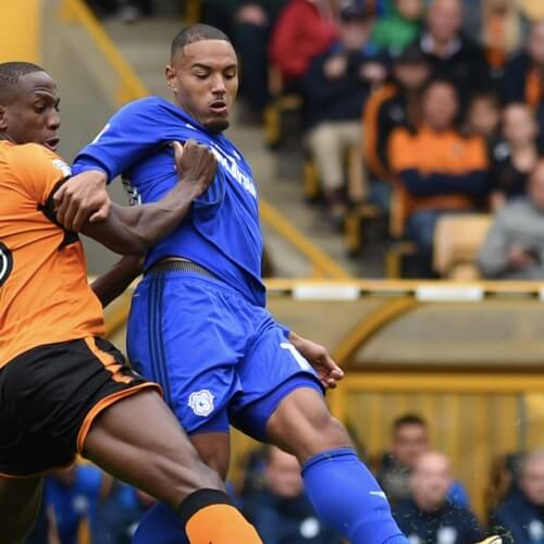 Cardiff City defeated Wolves 2-1