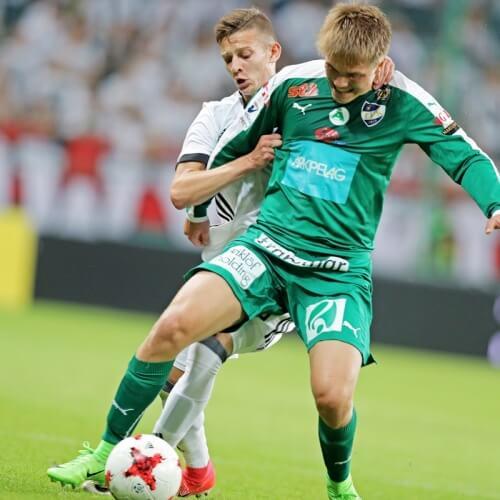Legia Warsaw humiliated IFK Mariehamn