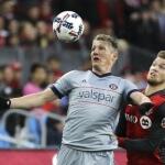 Chicago Fire's Midfielder Bastian Schweinsteiger