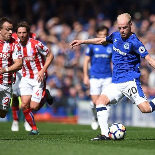 Everton FC's Davy Klaassen