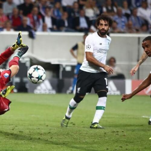 Liverpool defeated Hoffenheim