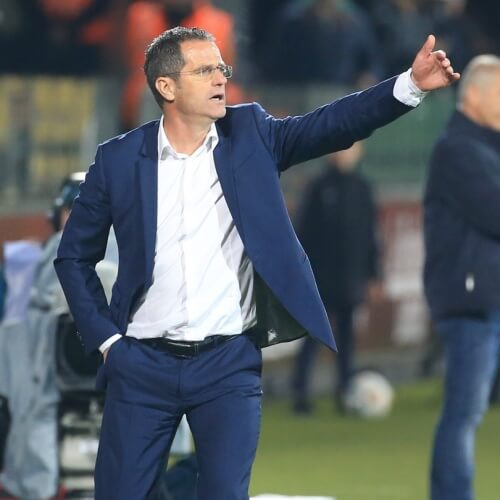 Metz's Manager Philippe Hinschberger