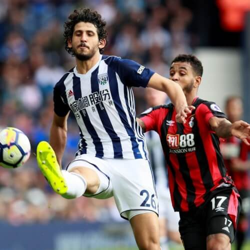 West Brom defeated Bournemouth