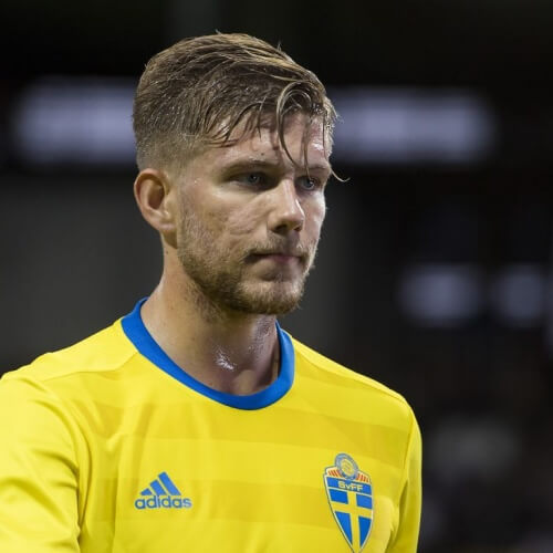 AIK's midfielder Anton Salétros