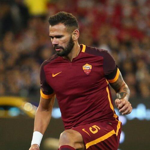 AS Roma's defender Juan Jesus
