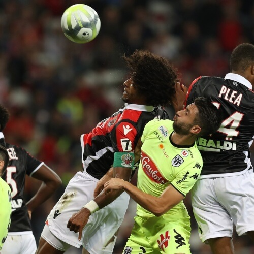 Angers and OGC Nice 2-2 Draw