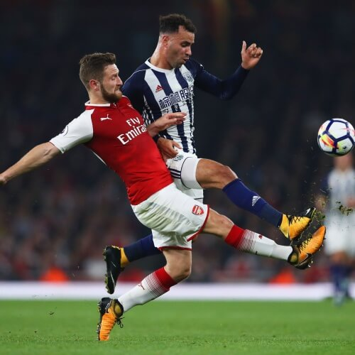 Arsenal defeated West Brom 2-0
