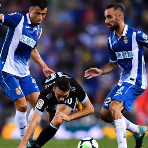 Espanyol defeated Celta Vigo