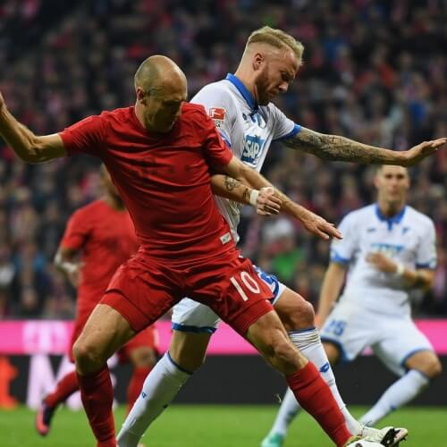 Hoffenheim defeated Bayern Munich
