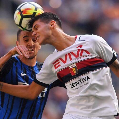 Inter Milan crashed Genoa 1-0