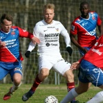 JJK's midfielder Patrick Poutiainen