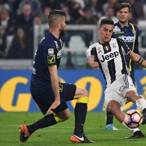 Juventus took down Chievo