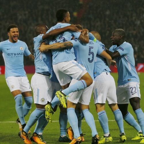Man City topped Premier League Table