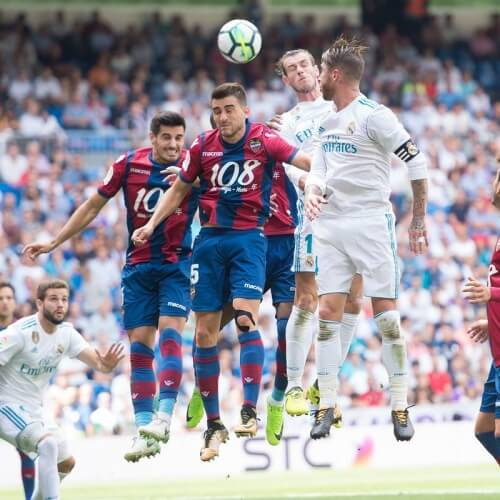 Real Madrid draw against Levante