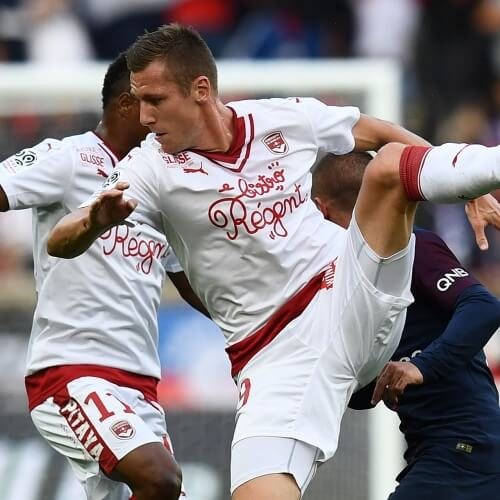Bordeaux first defeat v PSG