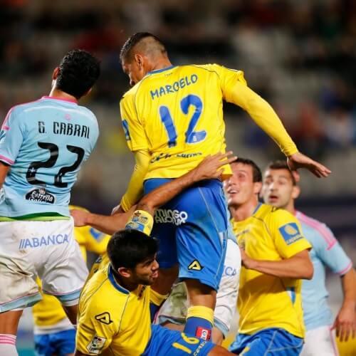 Celta Vigo dumped Las Palmas