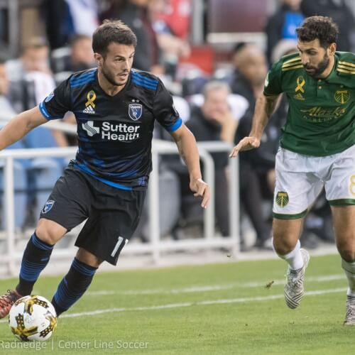 Timbers defeated by Earthquakes 1-2