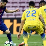 Barcelona defeated Las Palmas