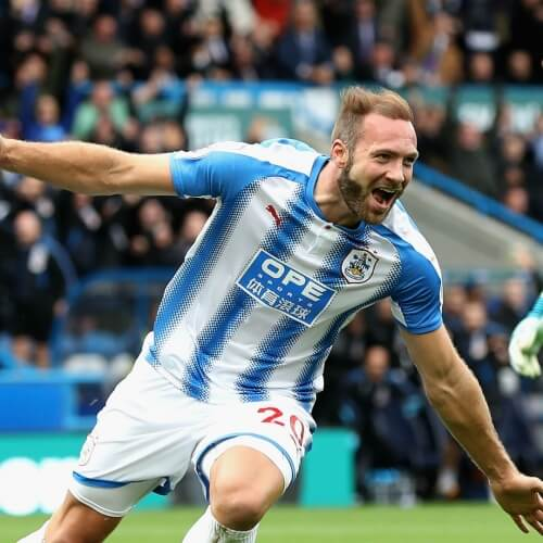 Football data analysis Huddersfield possession