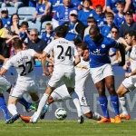 Leicester defeated Swansea 2-1