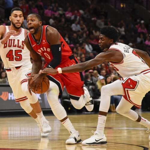 NBA bulls v raptors preseason 2017