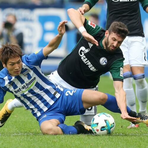 Schalke trashed Hertha 2-0