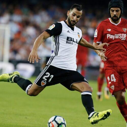 Valencia trashed Sevilla 4-0