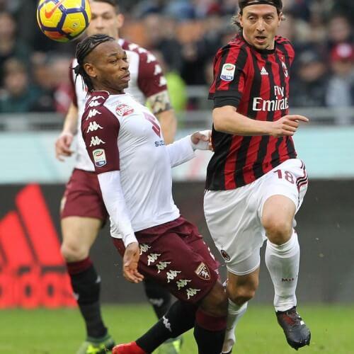 AC Milan and Torino's goalless tie